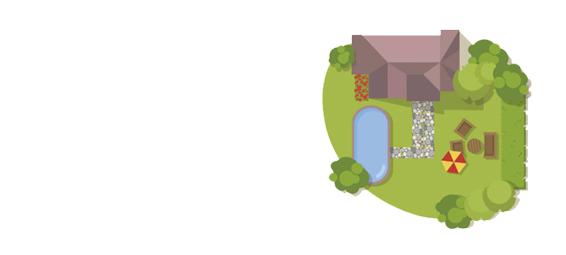 Position piège à moustique dans le jardin